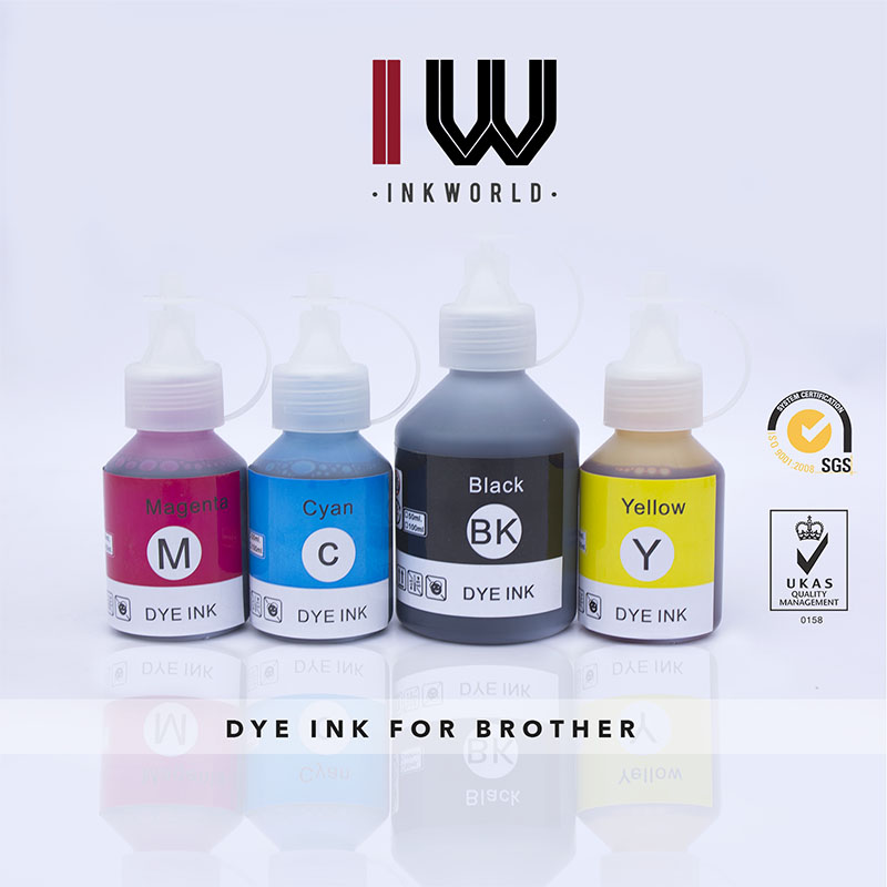 Anti-UV Dye Ink for Brother J410 LC960 LC980
