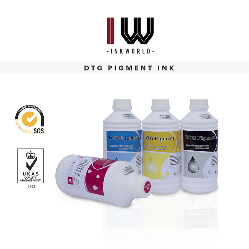 DTG Pigment Ink for Epson 1L