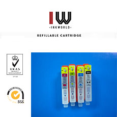 Refillable cartridges for HP364/564/920/178