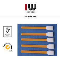 Cotton swab for eco solvent printer